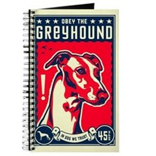 Obey the Greyhound! Journal/sketchpad