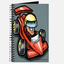 Cute Gokart racing Journal