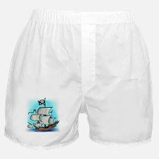 Cute Booty jolly rogers Boxer Shorts