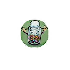 Unique Bean counter Mini Button