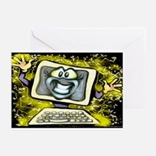 Cute Software internet Greeting Cards (Pk of 10)