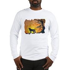 The Wolf Spirit Long Sleeve T-Shirt