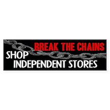 Break the Chains Bumper Bumper Sticker