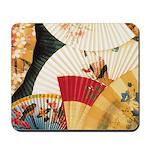 Vintage Japanese Fan Art Mousepad