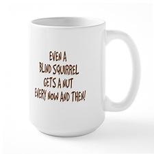 Blind Squirrel Ceramic Mugs(b)