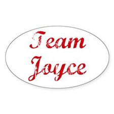 TEAM Joyce REUNION Oval Decal