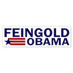 Feingold-Obama 2008 Bumper Sticker