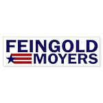 Feingold-Moyers '08 bumper sticker