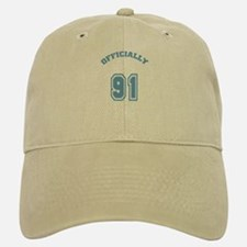 Officially 91 Baseball Baseball Cap