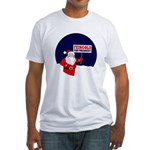 Santa Claus for Feingold Fitted T-Shirt