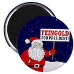 Santa For Feingold Magnet
