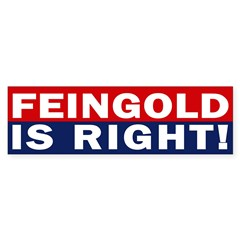 Feingold is Right! (bumper sticker)