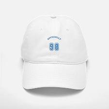 Officially 90 Baseball Baseball Cap