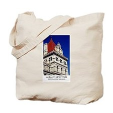 NYS Capitol Building - Red Roof Tote Bag