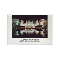 NYS Capitol on the Plaza Rectangle Magnet (10 pack