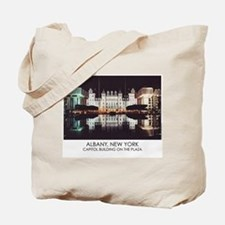 NYS Capitol on the Plaza Tote Bag