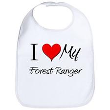 I Heart My Forest Ranger Bib
