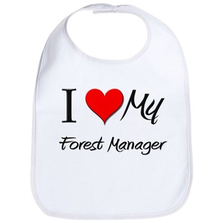 I Heart My Forest Manager Bib