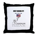 JUST BRING IT! Throw Pillow