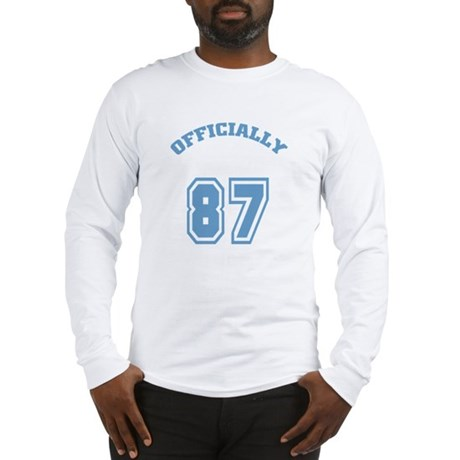Officially 87 Long Sleeve T-Shirt