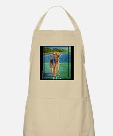 "Airedale ""Max"" a kevin rockwe BBQ Apron"