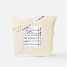 Cute Mayor Tote Bag