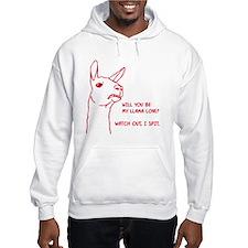 Llama Love Hoodie
