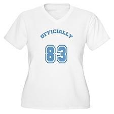 Officially 83 Women's Plus Size V-Neck T-Shirt