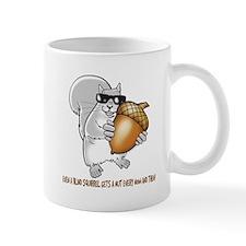 Blind Squirrel Small Mug