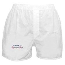 I Drive the Queen of the Road Boxer Shorts