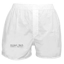 Project Nerd: Domestic Superhero Boxer Shorts