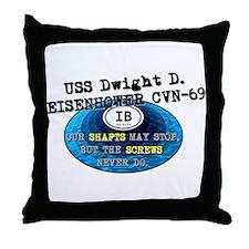 IKE BITES Throw Pillow