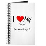 I Heart My Food Technologist Journal