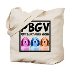 PBGV Pop Art Tote Bag