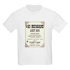 Lost Dog $50 Reward T-Shirt