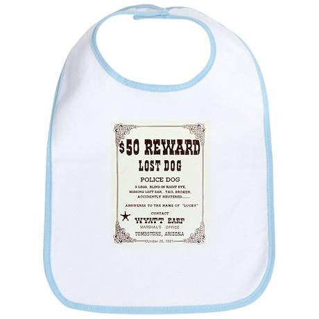 Lost Dog $50 Reward Bib