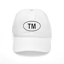 Turkmenistan Oval Baseball Cap