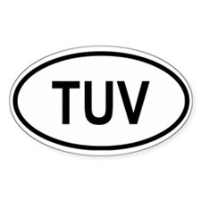 Tuvalo Oval Decal