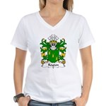 Roydon Family Crest Women's V-Neck T-Shirt