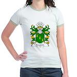 Roydon Family Crest Jr. Ringer T-Shirt