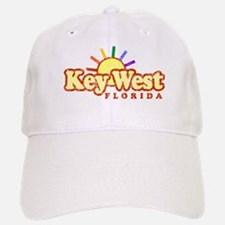 Sunny Gay Key West, Florida Baseball Baseball Cap