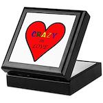 Crazy in Love Keepsake Box