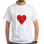 Crazy in Love White T-Shirt