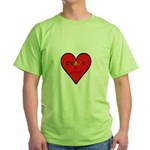Crazy in Love Green T-Shirt