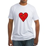Crazy in Love Fitted T-Shirt