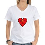 Crazy in Love Women's V-Neck T-Shirt