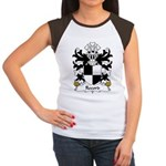 Record Family Crest Women's Cap Sleeve T-Shirt