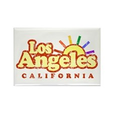Sunny Gay Los Angeles, California Rectangle Magnet
