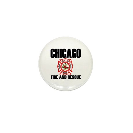 Chicago Fire Department Mini Button (100 pack)
