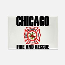 Chicago Fire Department Rectangle Magnet